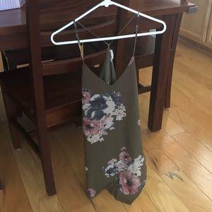 Free people mini dress. Size small